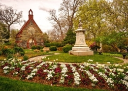 Renwick Chapel at Oak Hill Cemetery