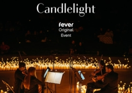 outdoor concert by candlelight
